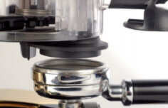 Cunhill Automatic Black Commercial Coffee Grinder Group