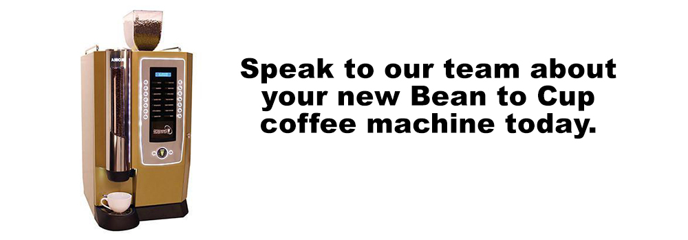 Darenth Roma Bean to Cup Coffee Machine Cup Banner