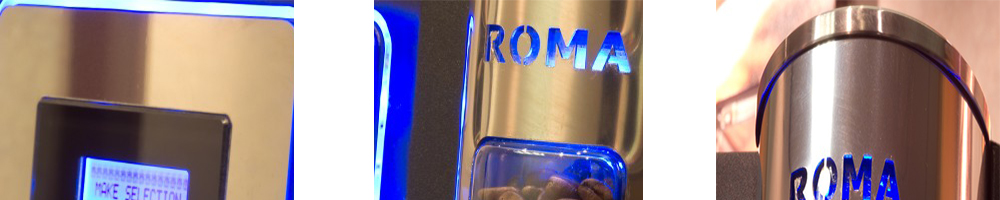 Darenth Roma Bean to Cup Coffee Machine Strength Close