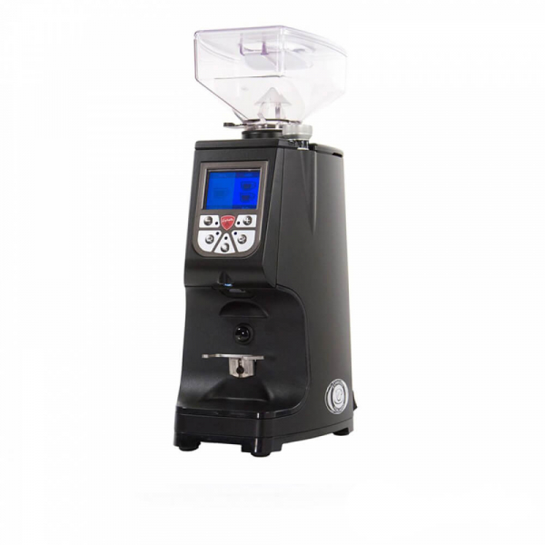 Eureka Atom Coffee Machine Commercial Grinder Angled