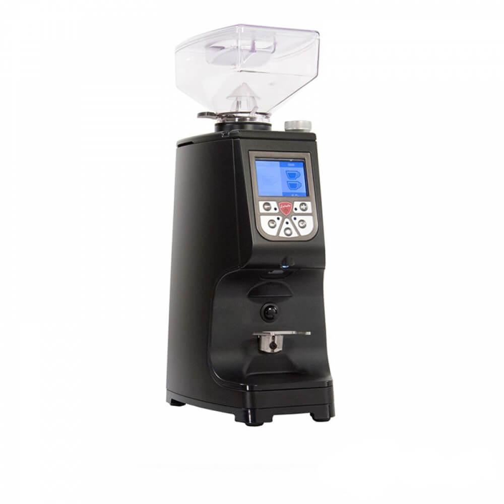 Eureka Atom Commercial Coffee Machine Grinder Angled