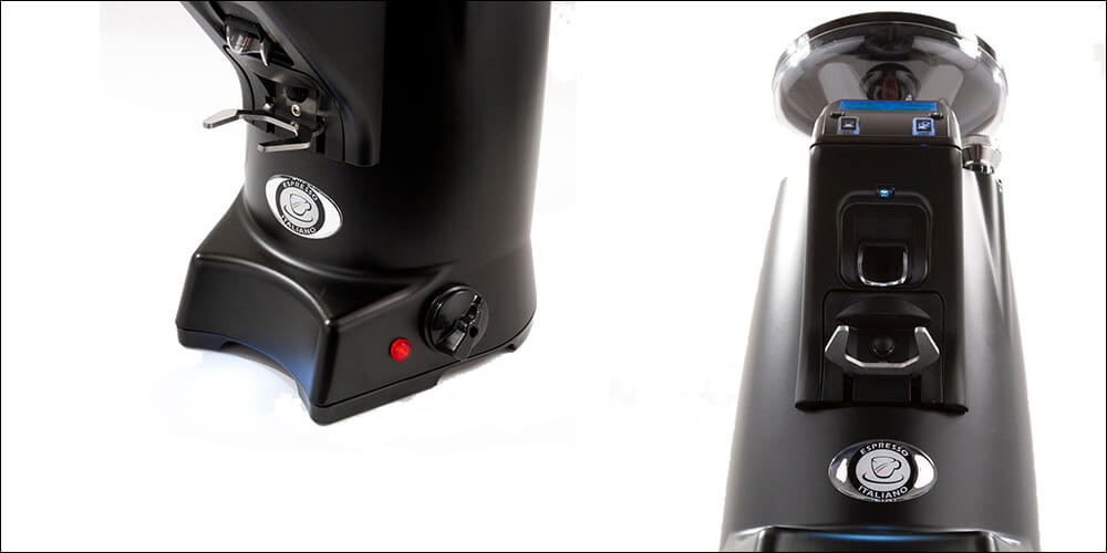 Eureka Zenith 65 Commercial Coffee Grinder Banner Top and Bottom