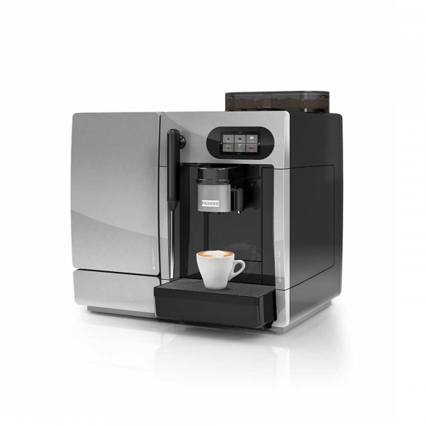 FRANKE A200 Commercial Bean to Cup Coffee Machine Angled