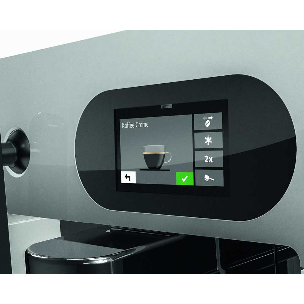 FRANKE A200 Commercial Bean to Cup Coffee Machine Display