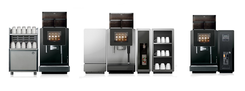 Franke A400 Bean to Cup Coffee Machine designs