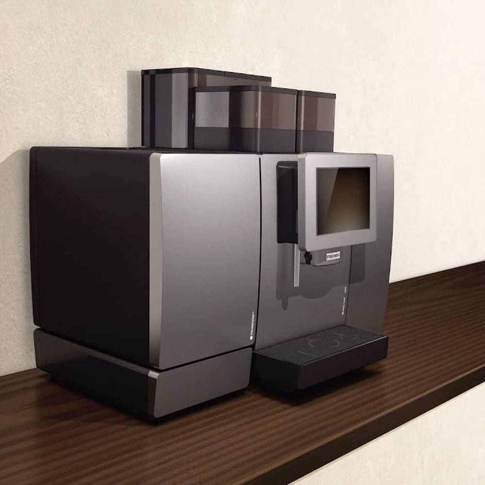 Franke A600 Commercial Bean to Cup Coffee Machine Angled Worktop