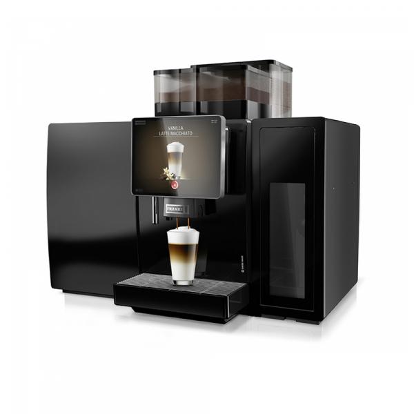 Franke A800 bean to cup coffee machine angled