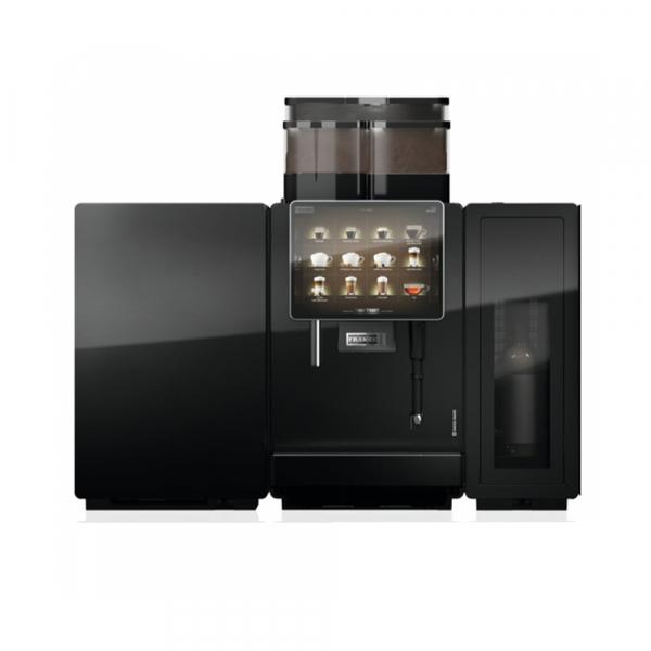 Franke A800 bean to cup coffee machine with fridge
