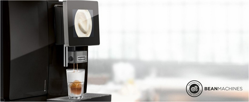 Franke A600 commercial bean to cup coffee machine title