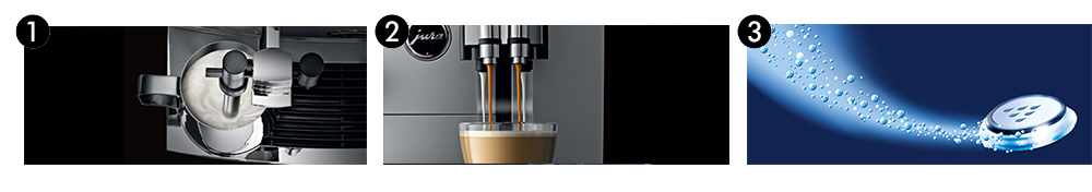 Jura Giga X9c Commercial Bean to Cup Coffee Machine Features Banner