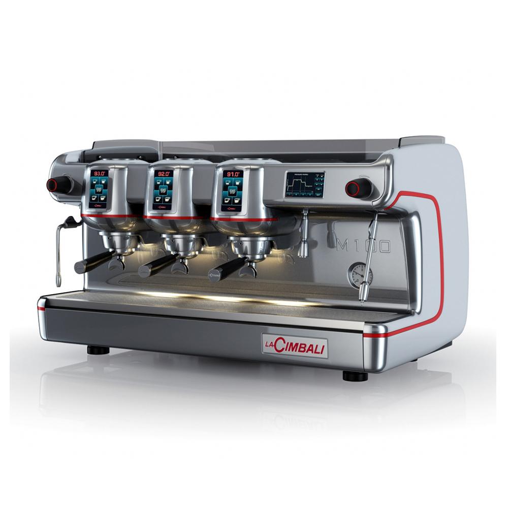 La Cimbali M100 Selectron Traditional Espresso Machine Angled