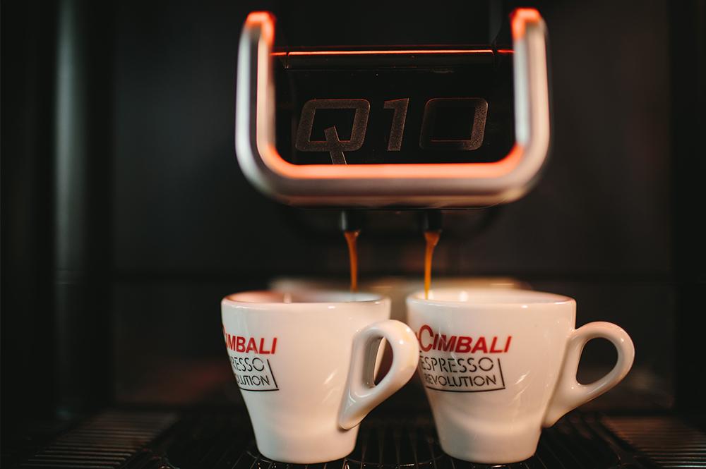 La Cimbali Q10 Bean to Cup Coffee Machine Close