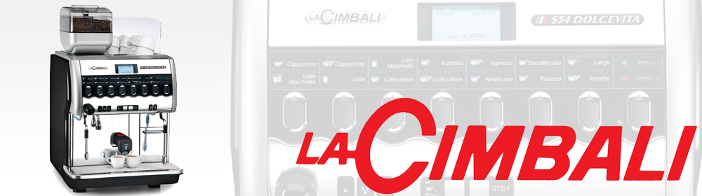 La Cimbali S54 Dolcevita Bean to Cup Coffee Machine Banner