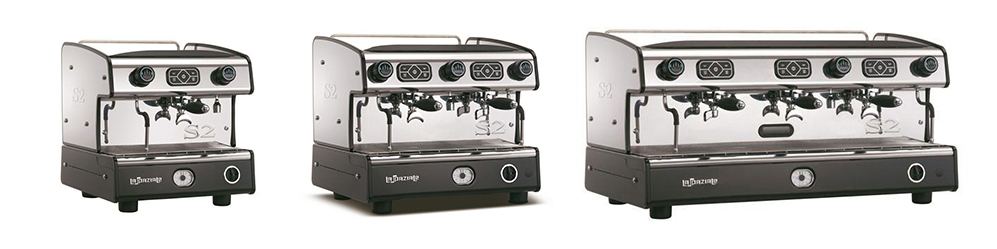 La Spaziale S2 Traditional Commercial Coffee Machine Banner 1 Group 2 Group and 3 Group