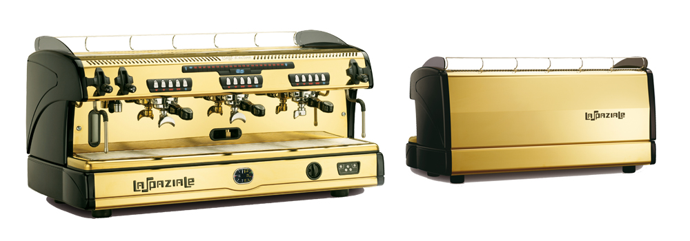 La Spaziale S5 Traditional Espresso Machine Gold