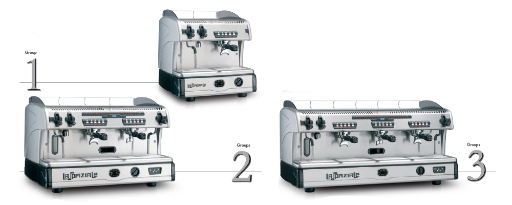 La Spaziale S5 Traditional Espresso Machine Variations