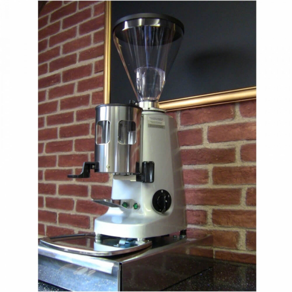 Mazzer Super Jolly Manual Coffee Grinder Eye Level Cafe Worktop