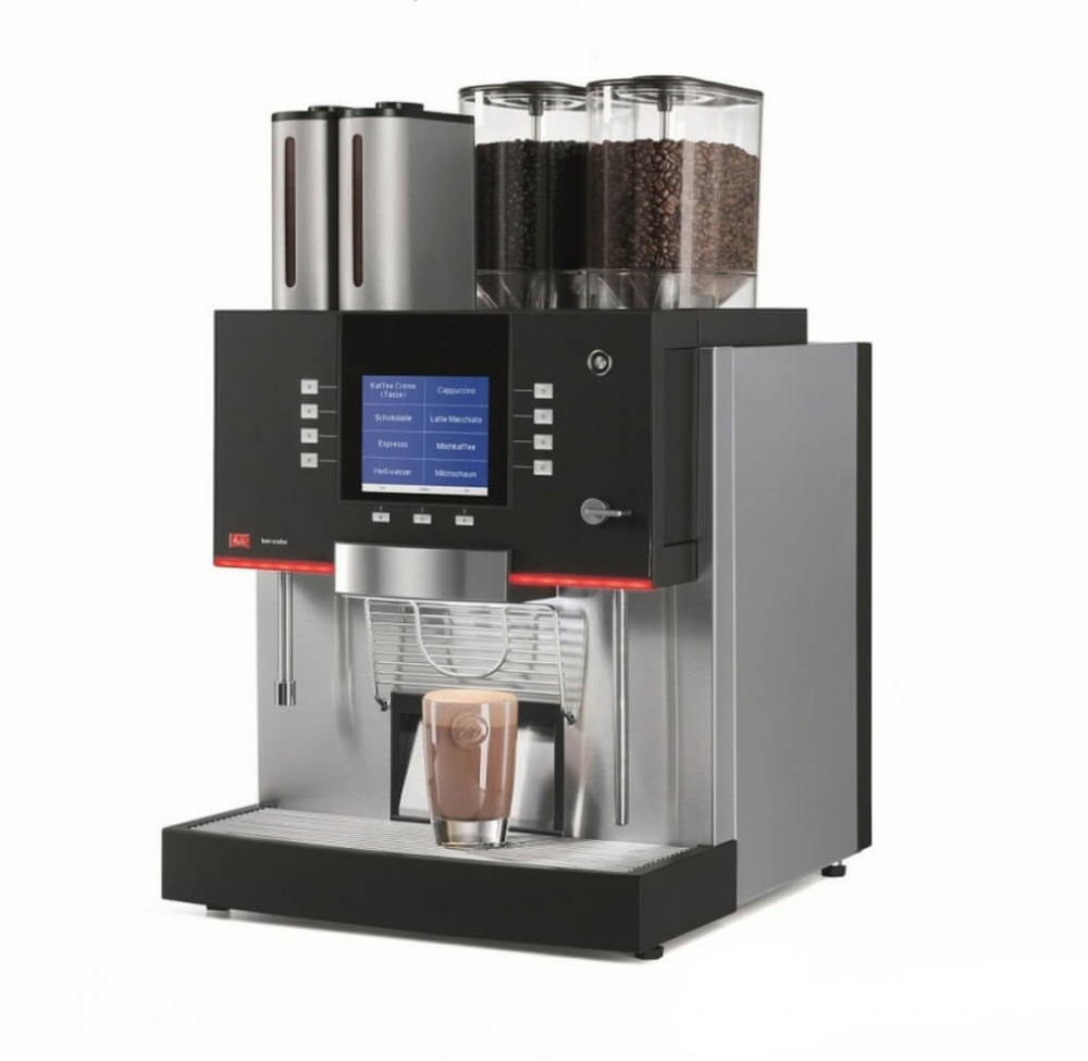 Melitta Barcube commercial bean to cup coffee machine main