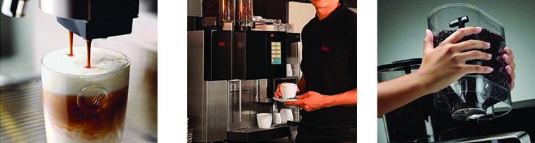 Melitta C35 commercial coffee machine banner