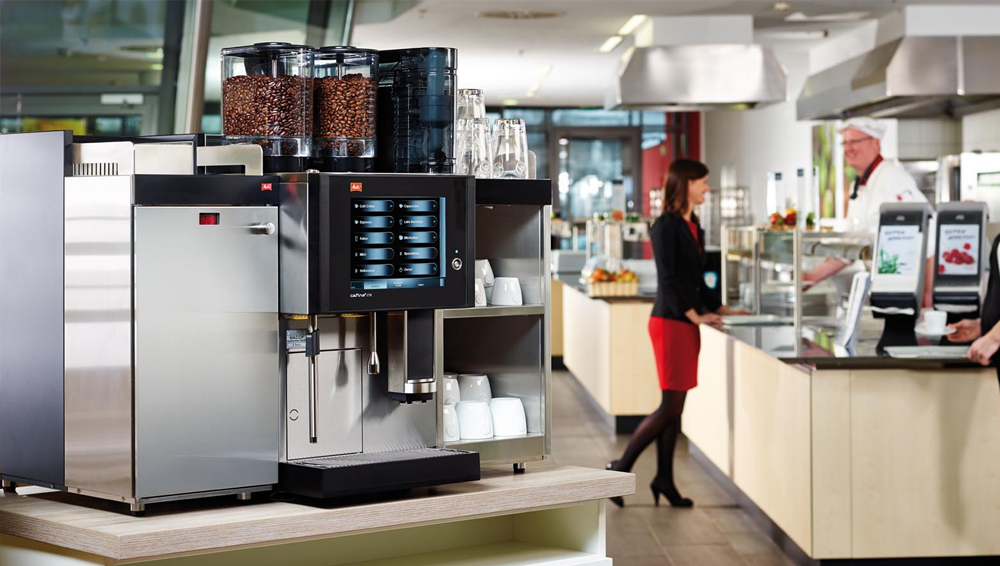 Melitta CT8 Bean to Cup Coffee Machine Lifestyle Image
