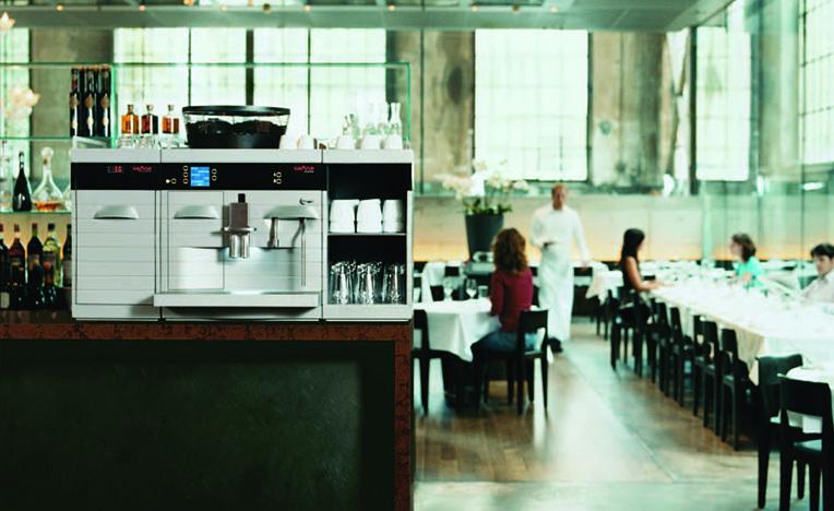 Melitta Cafina Alpha Bean to Cup Coffee Machine Lifestyle
