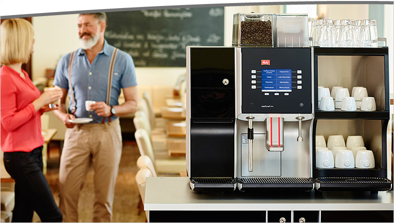 Melitta Cafina XT4 Commercial bean to cup coffee machine header image