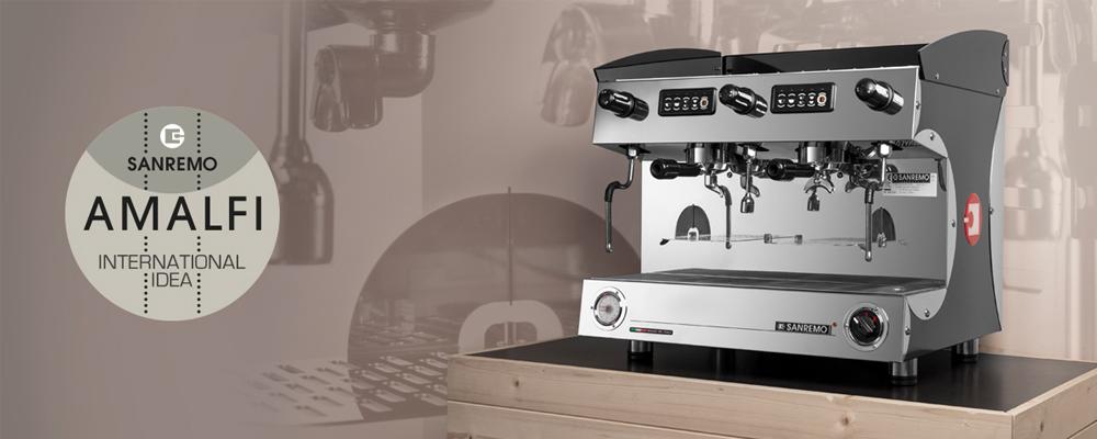 Sanremo Amalfi Traditional Espresso Machine Banner