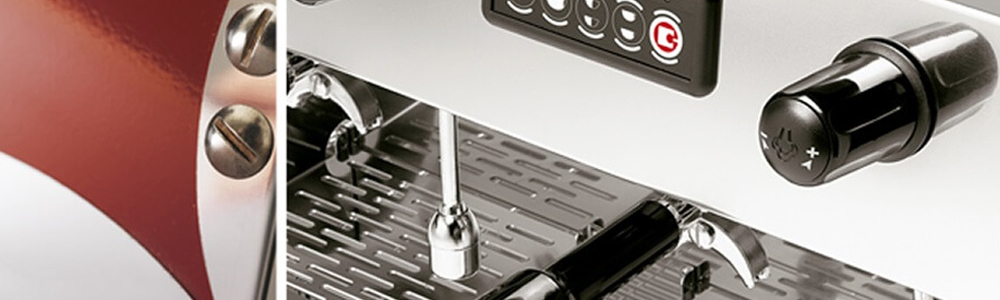 Sanremo Amalfi Traditional Espresso Machine Close up