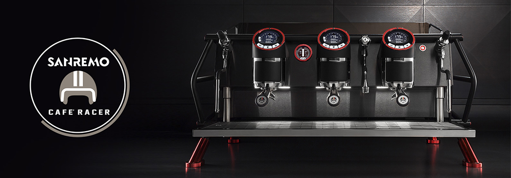 Sanremo Cafe Racer Traditional Espresso Machine Main Banner