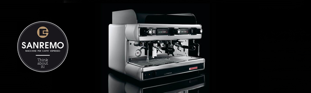 Sanremo Firenze Traditional Espresso Machine Banner