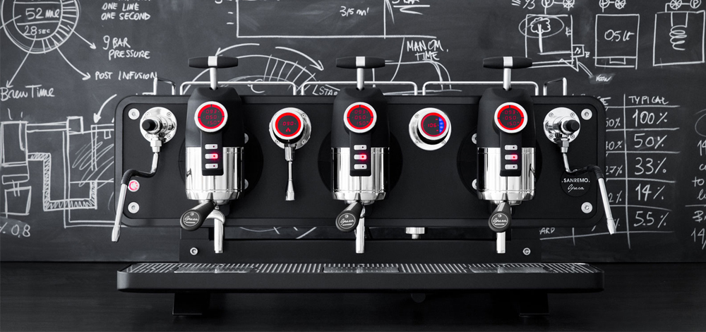 Sanremo Opera Traditional Espresso Machine Details