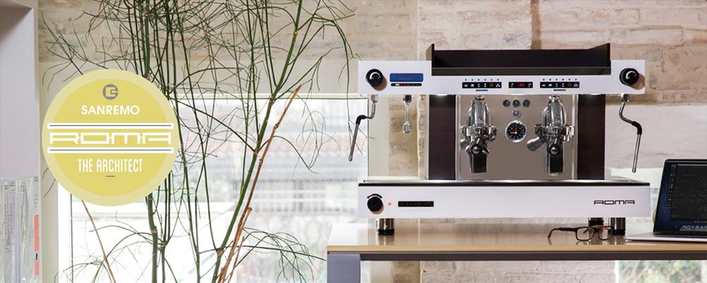 Sanremo Roma Traditional Espresso Machine Banner