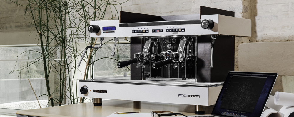 Sanremo Roma Traditional Espresso Machine Lifestyle