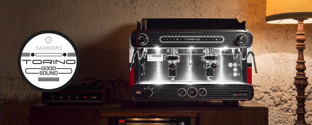 Sanremo Torino Traditional Espresso Machine Banner