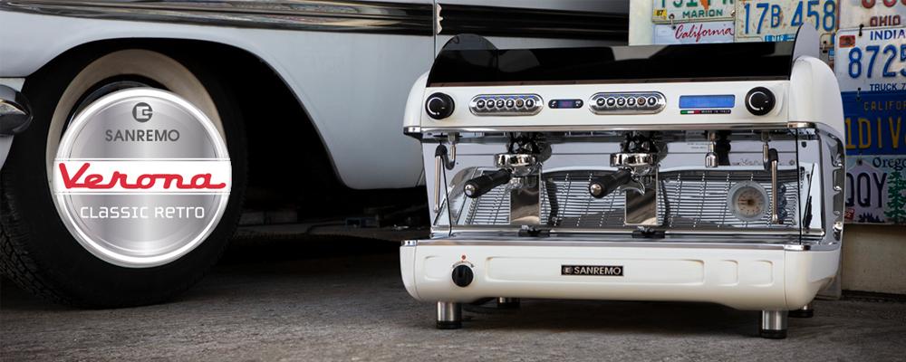 Sanremo Verona TCS Espresso Machine Lifestyle