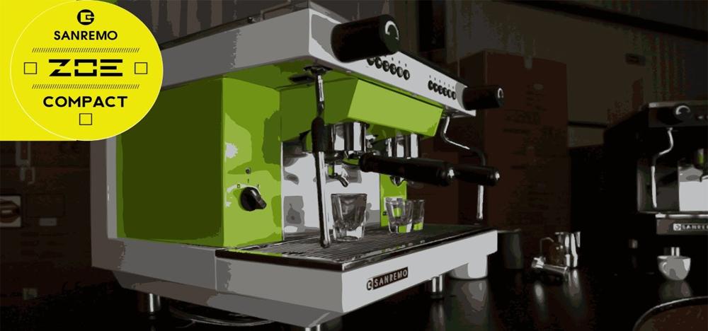 Sanremo Zoe Traditional Espresso Machine Abstract