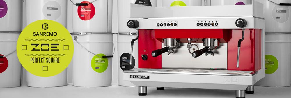 Sanremo Zoe Traditional Espresso Machine Banner