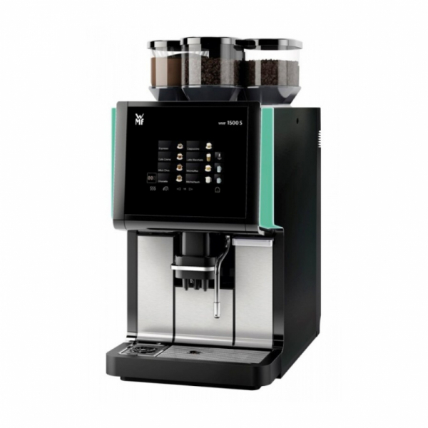 WMF 1500S Commercial Bean to Cup Coffee Machine Angled