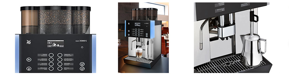 WMF 2000S Bean to Cup Commercial Coffee Machine Banner