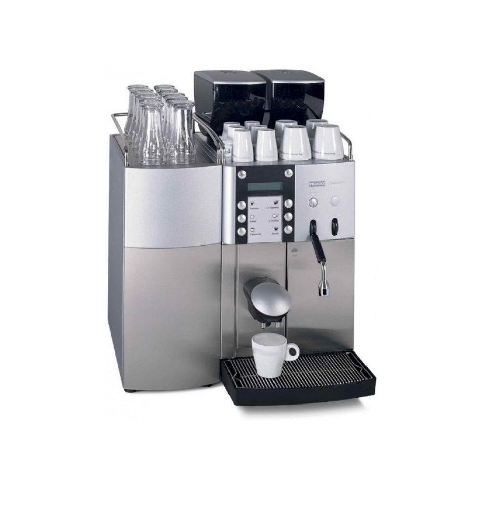 franke evolution bean to cup coffee machine second