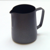 0.35 Litre Teflon Milk Frothing Jug - Black