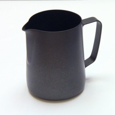 0.35 Litre Teflon Milk Frothing Jug - Black
