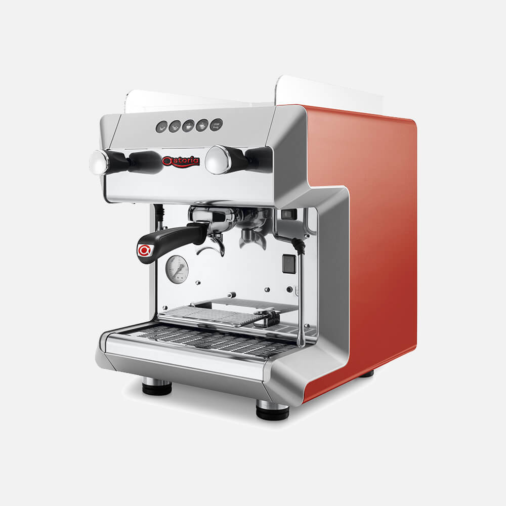 Astoria Greta Commercial Traditional Espresso Machine Angled