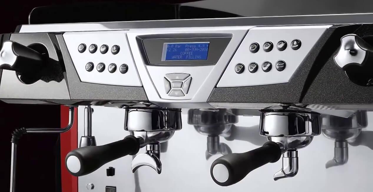 Astoria Plus 4 You Commercial Traditional Espresso Machine 2 Group Close Up