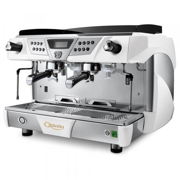Astoria Plus 4 You Commercial Traditional Espresso Machine 2 Group White