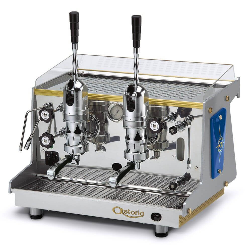 Astoria Rapallo Commercial Traditional Espresso Machine 2 Group Lever