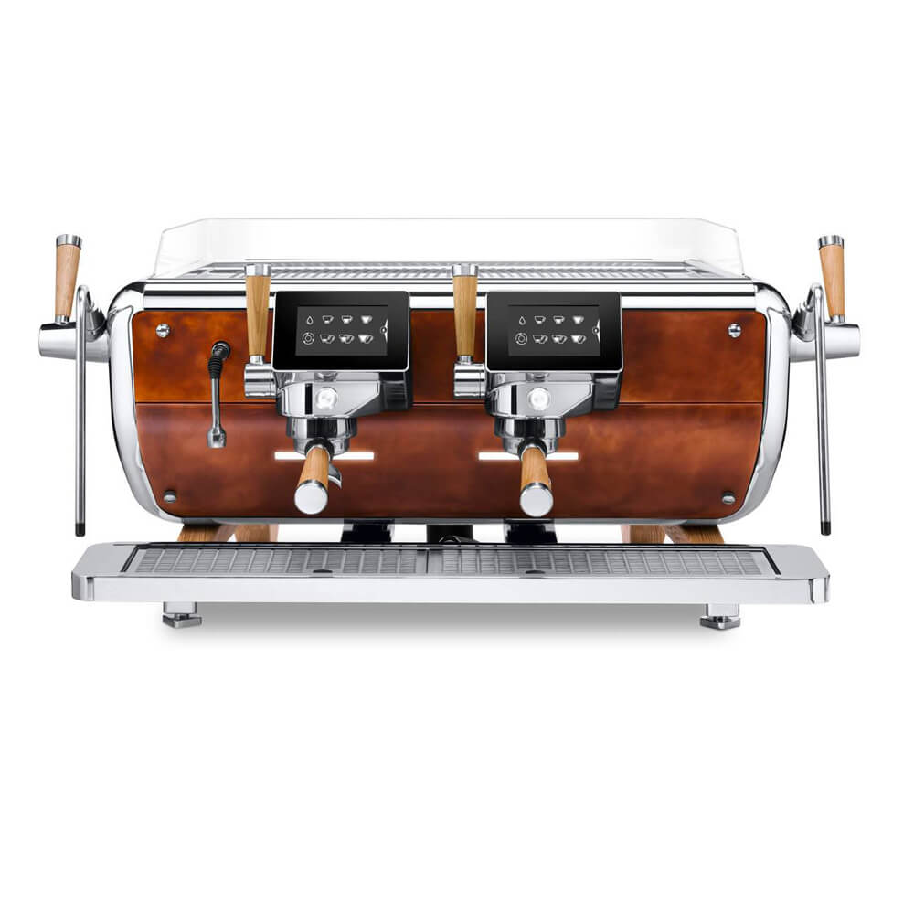 Astoria Storm Traditional Commercial Espresso Machine 2 Group Front