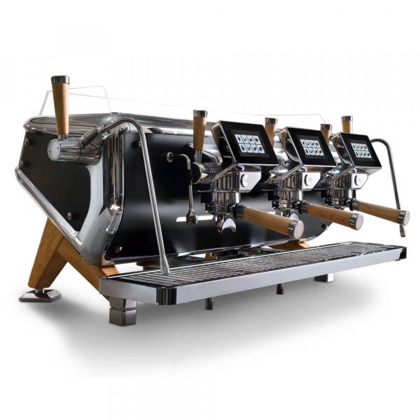 Astoria Storm Traditional Commercial Espresso Machine 3 Group Angled