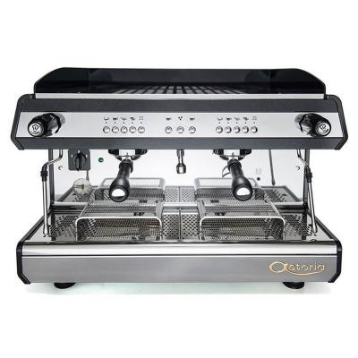 Astoria Tanya R Traditional Espresso Machine 2 Group Black Front