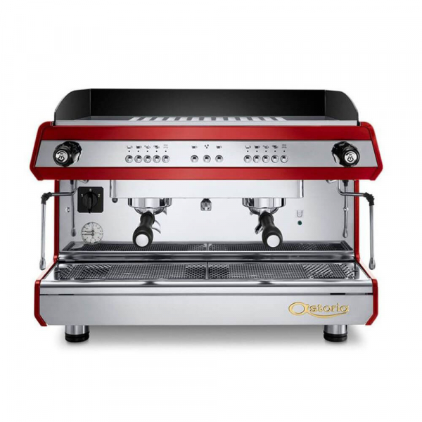 Astoria Tanya R Traditional Espresso Machine 2 Group Red
